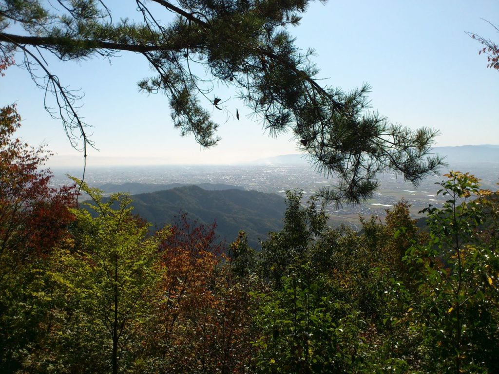 望郷の展望台からの眺め