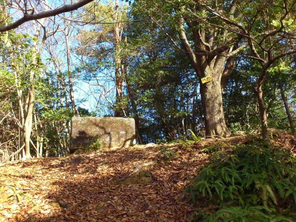 大平山の監視哨跡