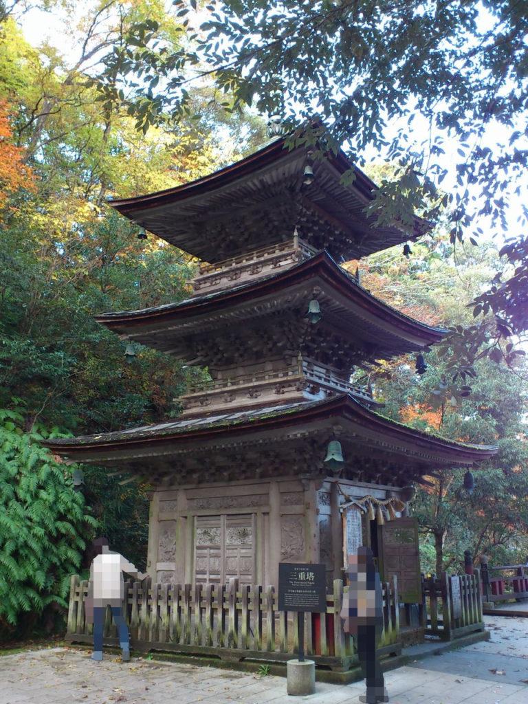 那谷寺の三重塔