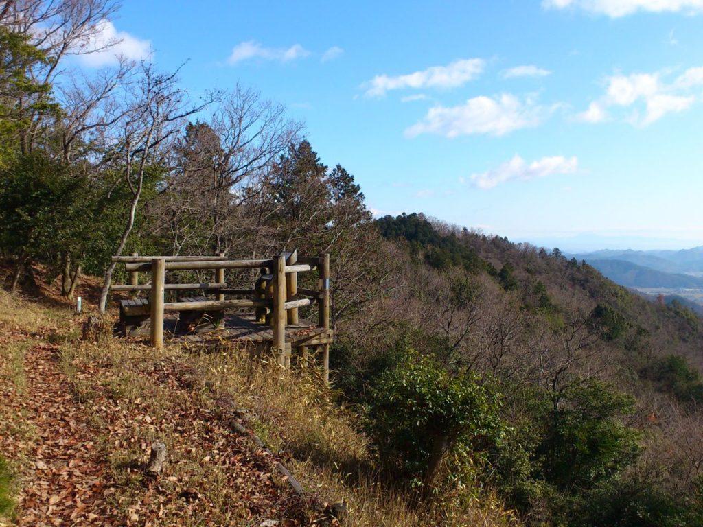 大谷山の展望台