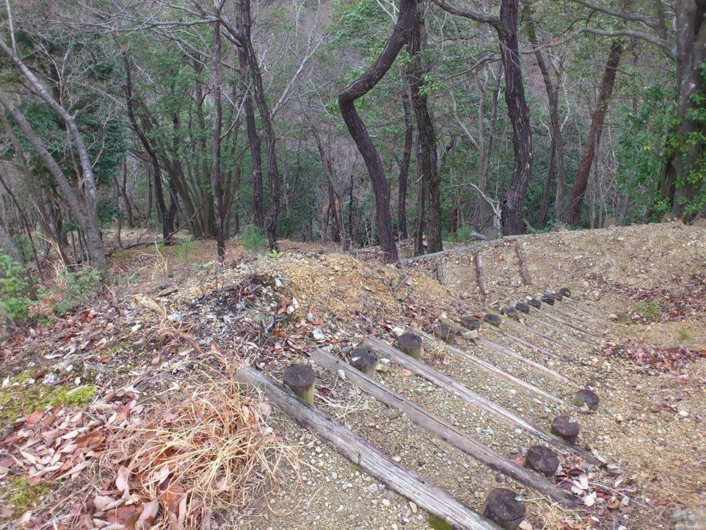 健脚コースの階段