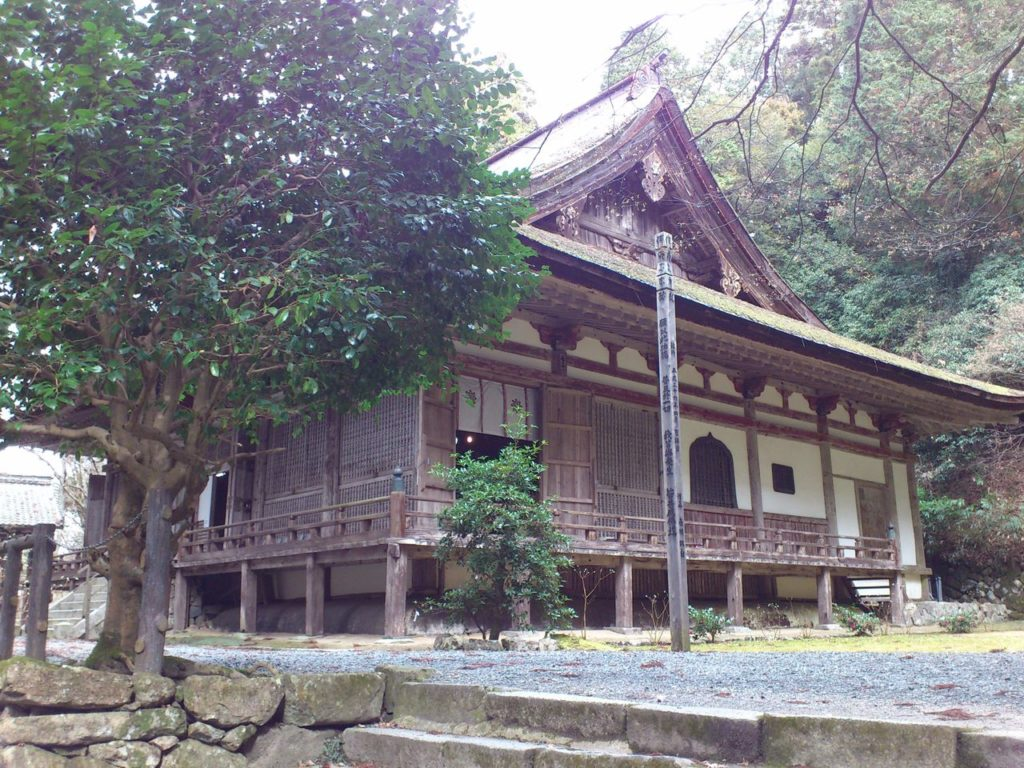 百済寺の本堂