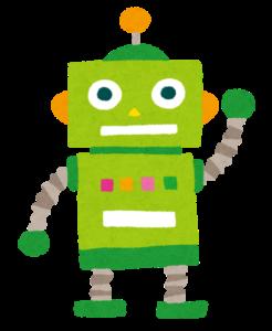 緑色のロボット