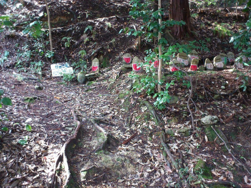 勝楽寺城の仕置き場跡