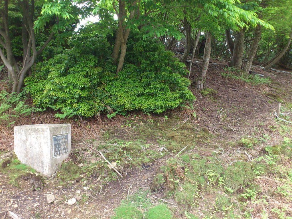 ボンテン山頂上への入り口
