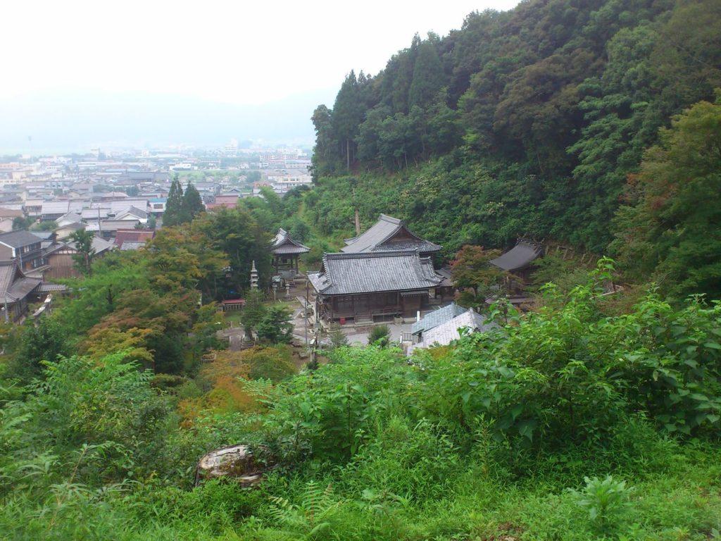 観音寺と意冨布良神社