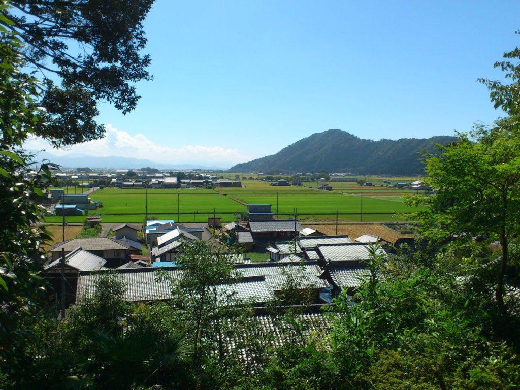 松尾寺から山本山
