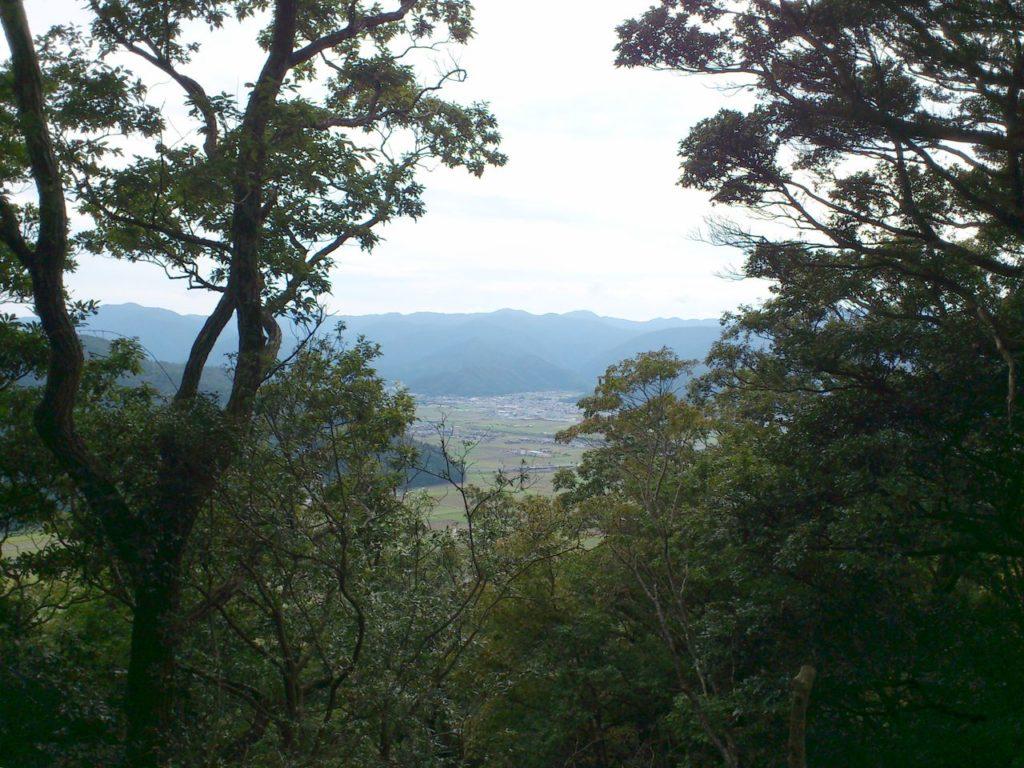 南端曲輪からの景色