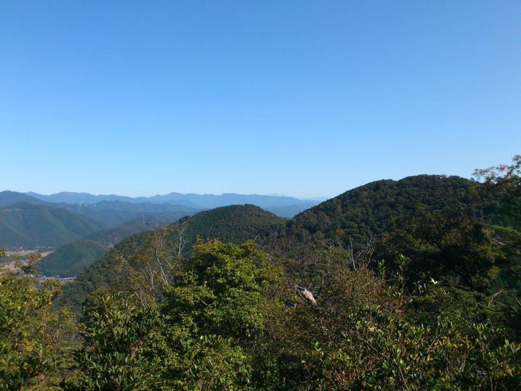 御嶽山展望平からの眺め