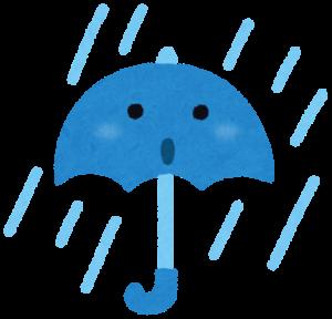 豪雨マーク