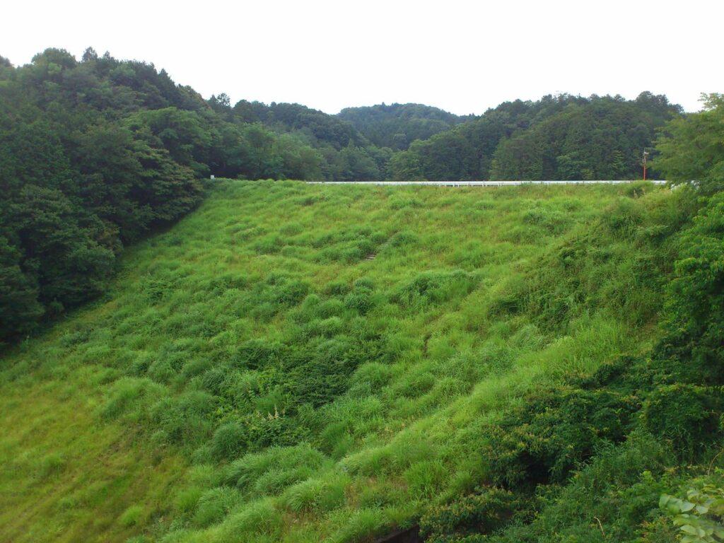 平尾2号ダム堤体