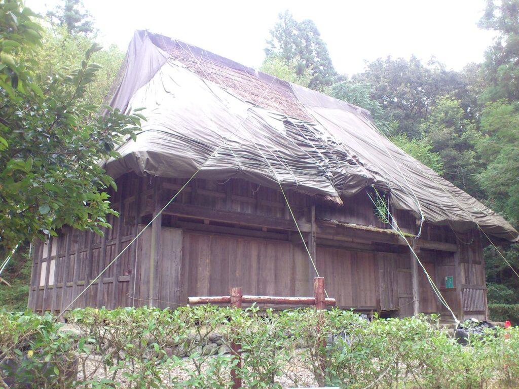 旧徳山村民家