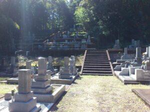 定恵禅寺墓地